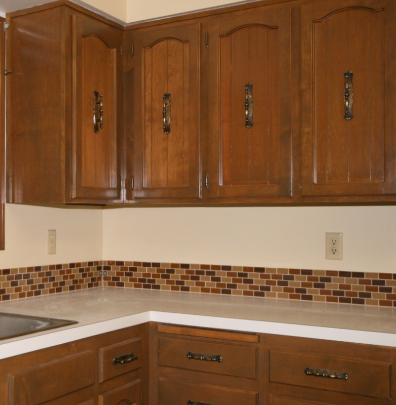 Affordable tile backsplash add value to your kitchen or for Bathroom backsplash