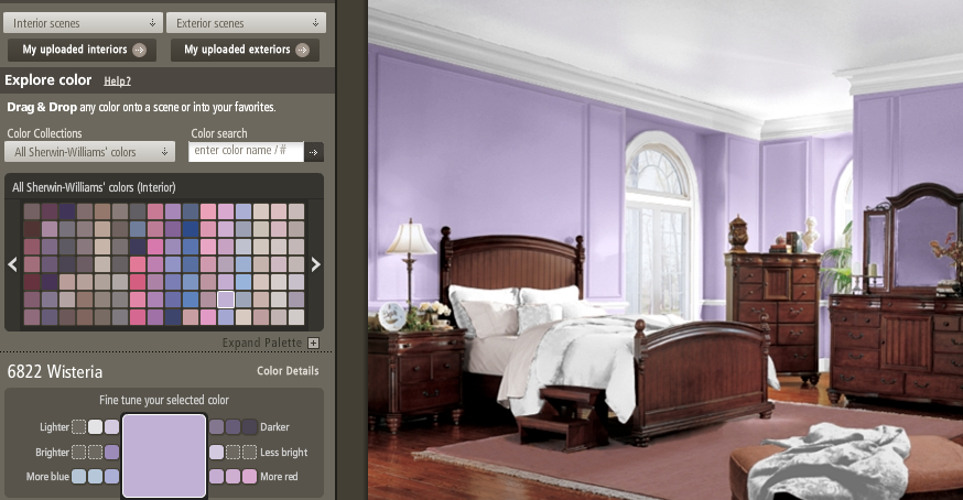 painting purple – what's a great color? | home staging : creative