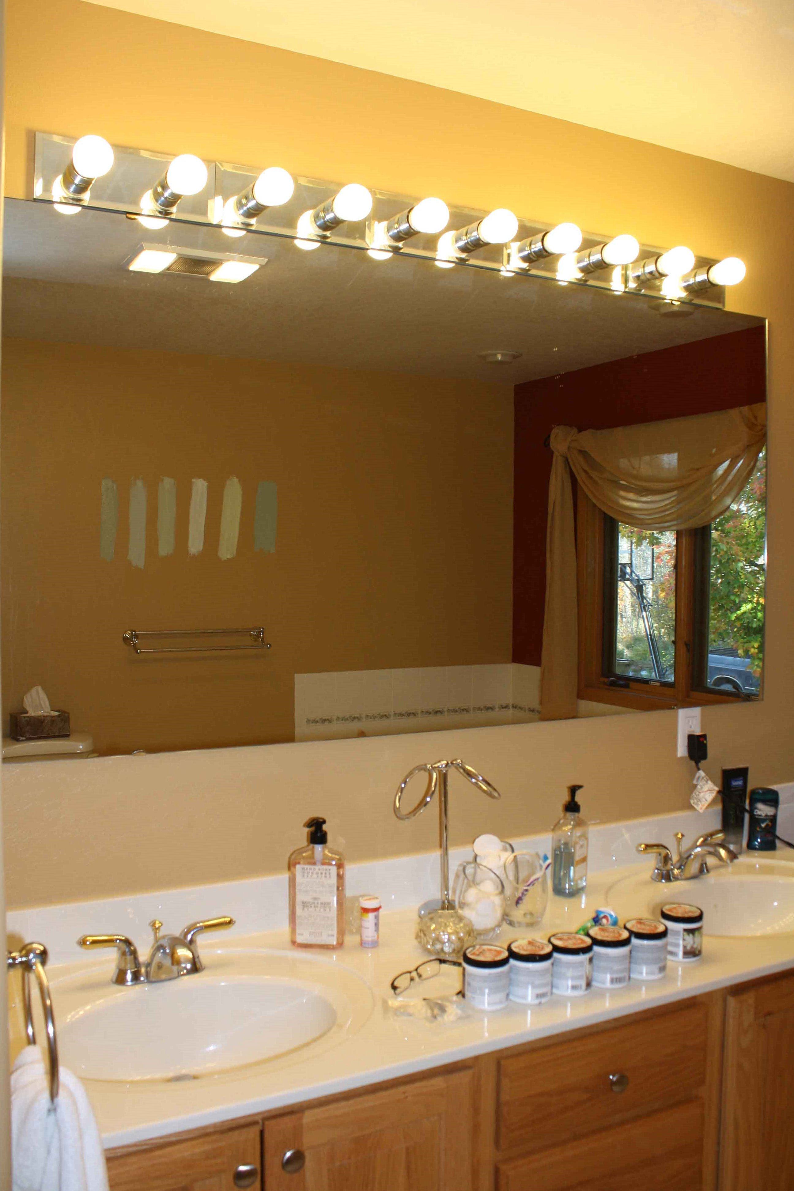 Before and afters of a DIY bathroom remodel. | Creative Concepts