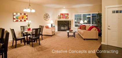 Belmont town home model Salem Oregon