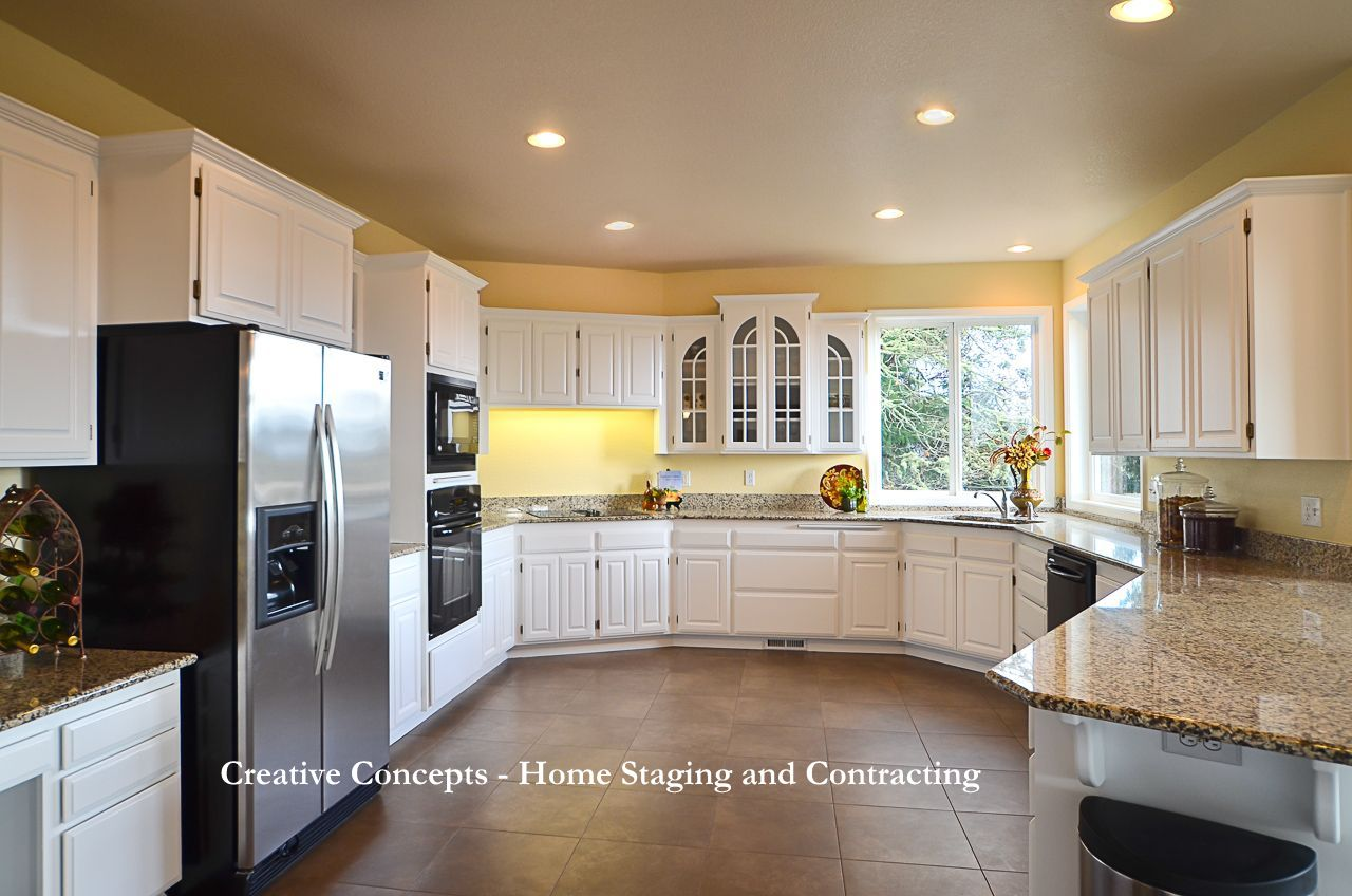 Kitchen Staging Transformations Via Paint Home Staging Creative Concepts And
