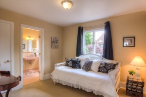 guest room staged by Creative Concepts