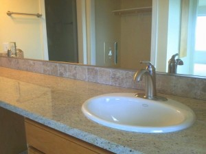 bathroom granite and tile choices